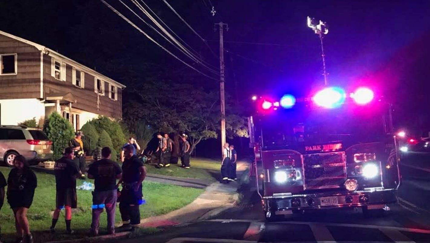 Family Escapes Park Ridge Blaze