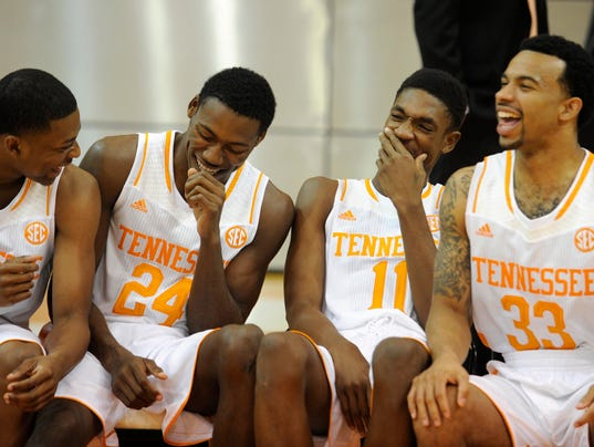 Tennessee Basketball Team Tennessee Men's Basketball
