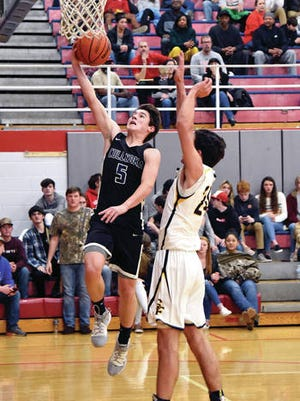 Ethan Hardison (5) is one of two seniors for Culleoka, which will host a region quarterfinal game for the first time in more than 10 years when Jo Byrns visits Saturday.