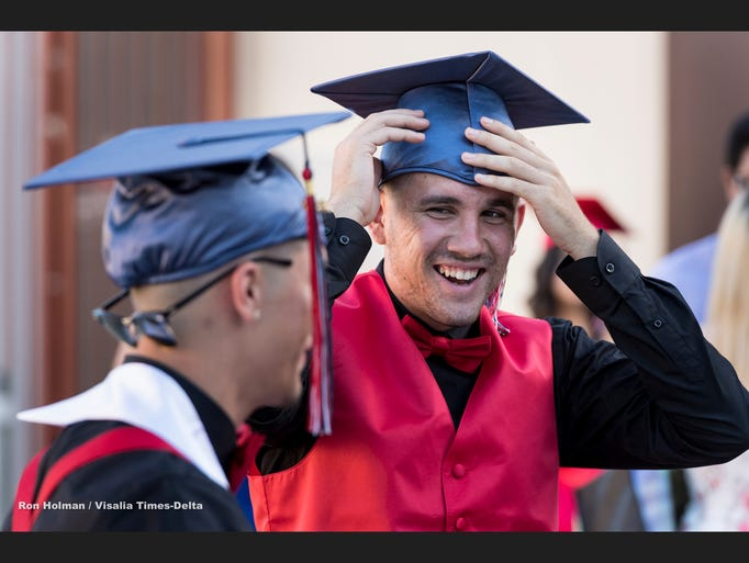 Tulare Western High School commencement ceremonies