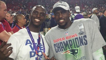 McCourty twins don't share Super Bowl success
