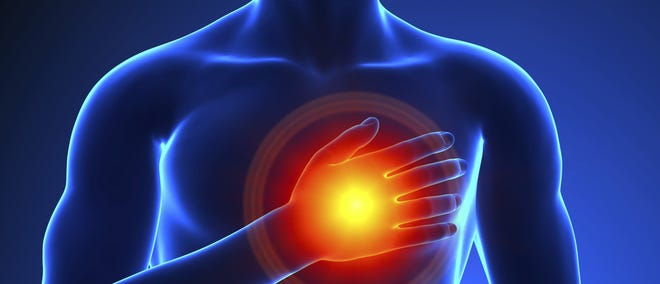 Men who exercised the least and sat the most had the greatest risk of developing heart failure.