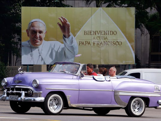 Cuba Pope Francis