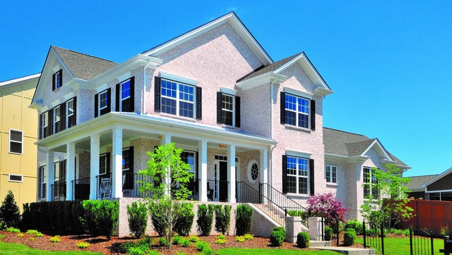 An example of the type of homes Regent Homes plans at Carothers Crossing.