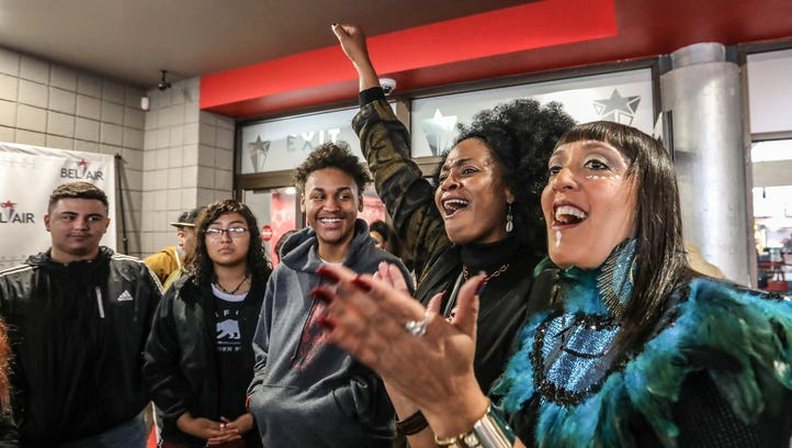 Wakanda is the word for Detroit students at crowd-funded 'Black Panther' screening