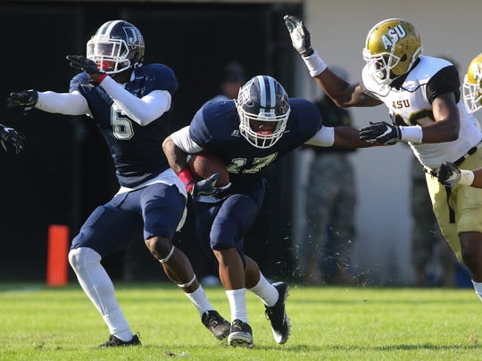 Jackson State is counting on a big game from running back Jordan Johnson if they are going to upset Alcorn State Saturday at Veterans Memorial Stadium in Jackson.