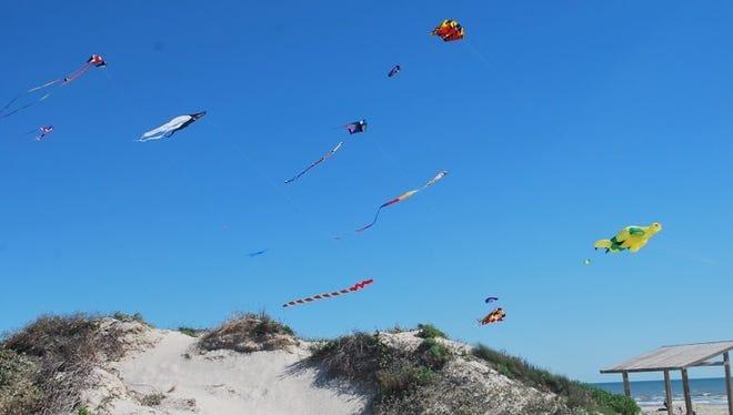Padre Island National Seashore will host Kite Day 2018 at Malaquite Beach Visitors Center.