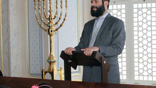Rabbi Moshe Scheiner of Palm Beach Synagogue.