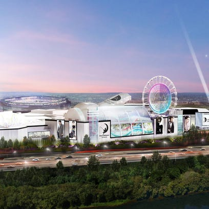 The latest renderings of the proposed American Dream