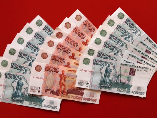 It's insanely expensive to bribe Russian officials these days