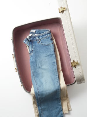 Once you've mastered this simple technique, you'll never again arrive at your destination with wrinkled clothes.   ONLY FOR USE WITH ARTICLE SLUGGED -- BC-ASK-MARTHA-PACKING-CLOTHES-ART-NYTSF -- OTHER USE PROHIBITED.