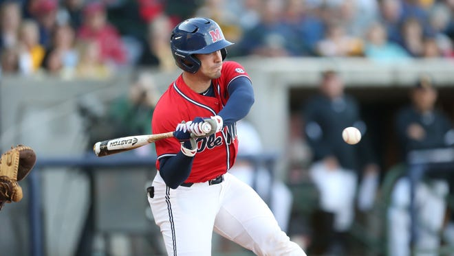 Nick Fortes went 3-for-5 and drove in three runs in Ole Miss' 11-3 win over No. 16 Vanderbilt Friday night.