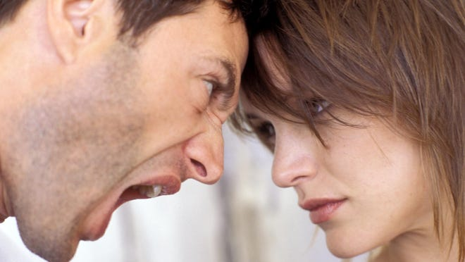 Husband who left is taking out his anger on the wife he deserted.