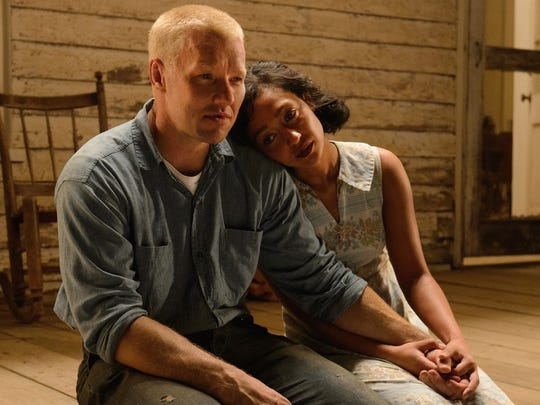 """In """"Loving,"""" Richard (Joel Edgerton) and Mildred (Ruth Negga) must leave their home state for 25 years to avoid prison."""