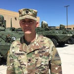Hallberg says time at Fort Bliss a 'phenomenal growth experience'