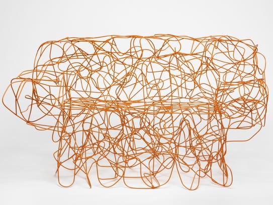 """Corallo"" armchair designed by Fernando Campana, c."