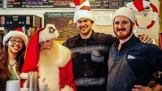 Dylan Jordan, far right, and the Rendezvous coffee crew will be sorely missed.