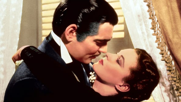 Clark Gable and Vivien Leigh made the lines memorable