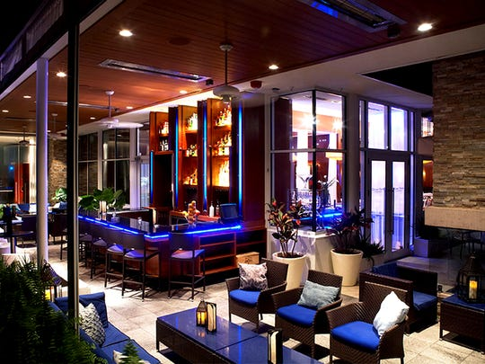 An outdoor lounge area at Ocean Prime Tampa. Ocean Prime, a steak and seafood restaurant chain, is replacing Avenue5 later this year at the Inn on Fifth in downtown Naples. Courtesy of Ocean Prime