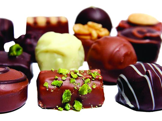 All about chocolate.