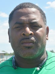 Peabody Magnet coach Toriano Williams