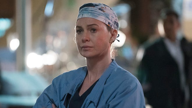 Ellen Pompeo in ABC's 'Grey's Anatomy.'