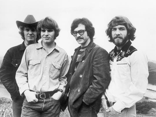 Creedence Clearwater Revival around 1970: from left,