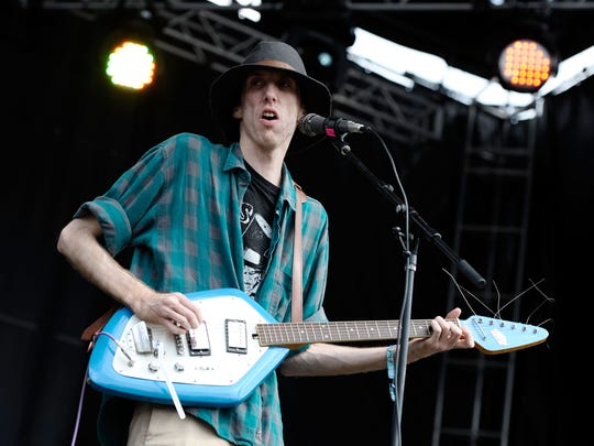 Bradford Cox of Deerhunter performs during 2013 Governors