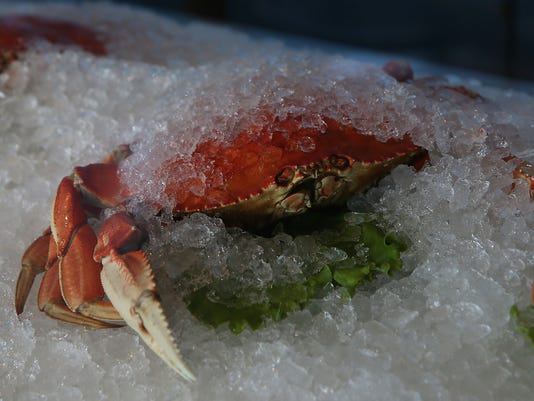 California Public Health Dep't Warns Against Eating Pacific Caught Crab