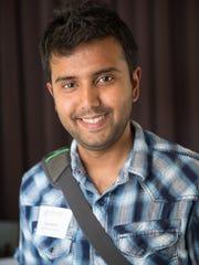 Srijan Karim, 26, of Des Moines
