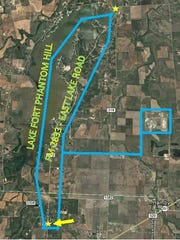 The city of Abilene has issued a boil water notice for part of Abilene.