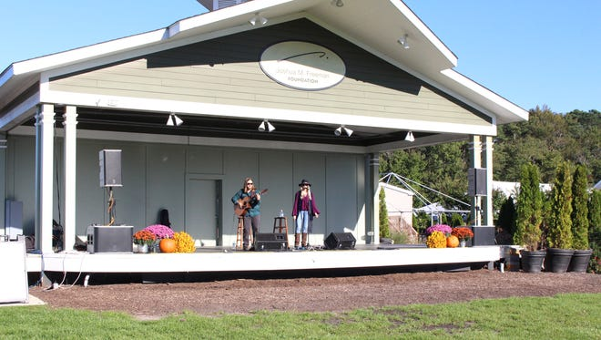 The current Freeman Stage will be torn down and replaced with a temporary stage in April 2017 while the Coastal Arts Pavilion at Freeman Park is being built.