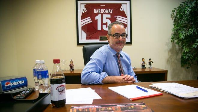 Andrew Barroway in his office in June 2015.