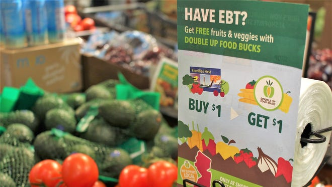 Four ShopRite stores have implemented Double Up Food Bucks program, the first in New Jersey.