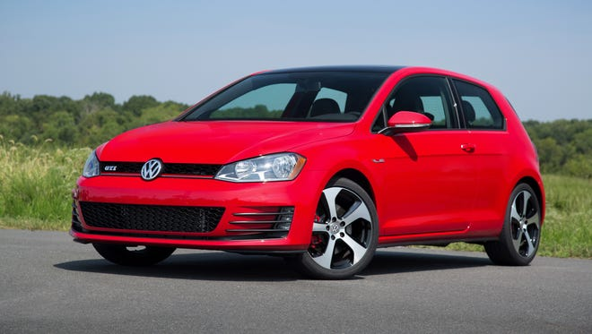 Motor Trend named the Volkswagen Golf family — Golf 1.8T, Golf TDI Clean Diesel, Golf GTI (pictured) and e-Golf models — as the 2015 Motor Trend Car of the Year.