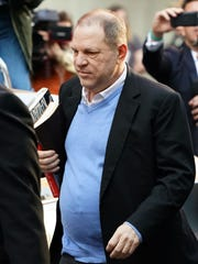 Harvey Weinstein surrenders to authorities May 25,