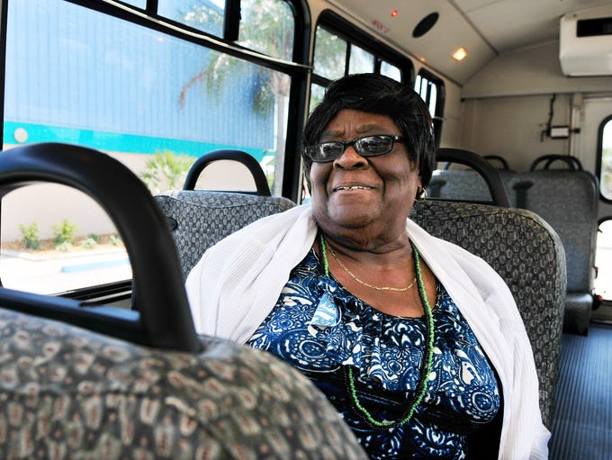 Annie Mae Price, 82, has been living in Cocoa since 1953 -- the past 24 years as a widow.