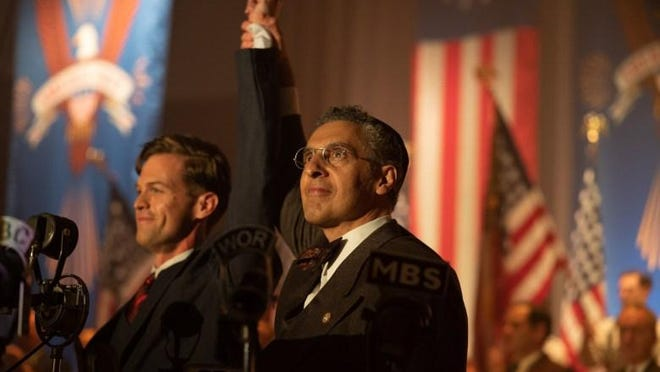 "Ben Cole and John Turturro star in the adaptation, ""The Plot Against America."""