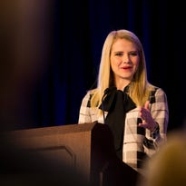 In Naples, Elizabeth Smart tells of finding hope and a 'way forward' after abduction