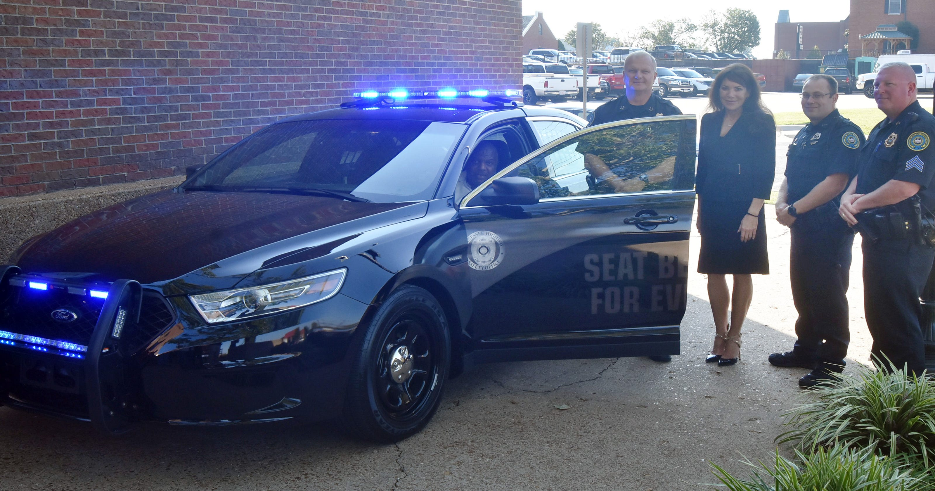 Gallatin Police Help Increase Seat Belt Use Win 45K Patrol Car