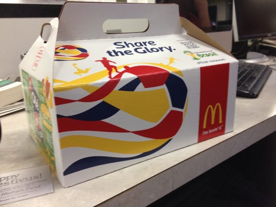 mcdonald's bundle box for world cup