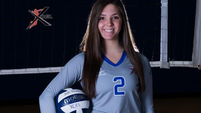North Asheville senior Hannah Smith.