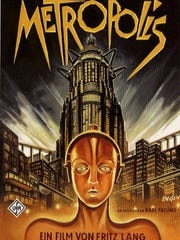 "A ""Metropolis"" movie poster from Paramount Pictures."