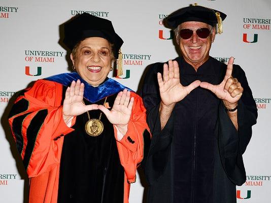Jimmy Buffett Commencement Speech At University Of Miami