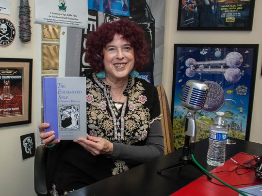 Barbara Becker Holstein, owner of Enchanted Self Productions, has a weekly podcast about positive mental health.