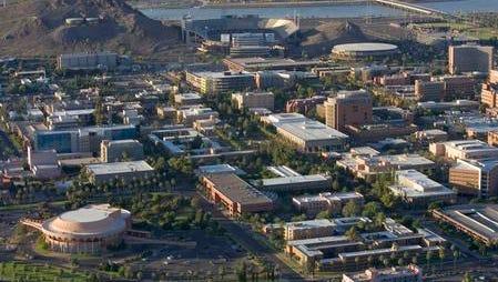 6/28/04-- Arizona State University (cq) campus in Tempe, AZ. (cq) (Arizona Republic photo by Rob Schumacher)