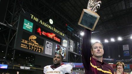 The Cactus Bowl is returning to Chase Field for the first time since 2005 when ASU won over Rutgers in what was then called the Insight Bowl.