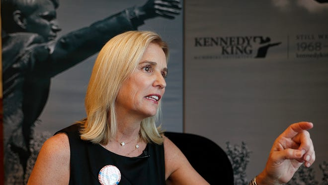 Kerry Kennedy, daughter of Robert F. Kennedy, discusses her father's speech in Indianapolis on the eve of the 50th anniversary of Martin Luther King Jr.'s assassination.