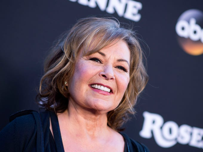 "Roseanne Barr attends the series premiere of ""Roseanne"""