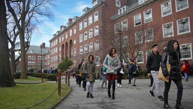At Brooklyn College in New York.
